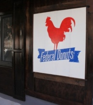 Federal Donuts Sign 1
