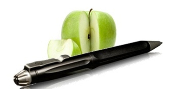 Pen and Apple